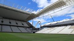 Stock Video Footage of Corinthians stadion São Paulo