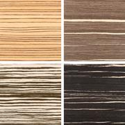 Set of four wooden texture backgrounds Stock Photos