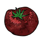 Stock Illustration of cartoon tomato