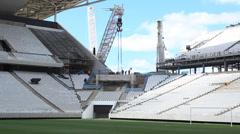 Corinthians stadion São Paulo - stock footage