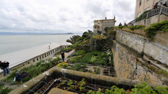 View of san Francisco from Alcatraz 3 Stock Footage