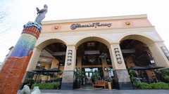 The cheesecake factory in walnut creek Stock Footage