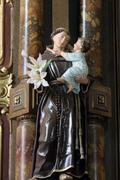 Saint Anthony of Padua Stock Photos