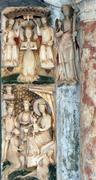 Altar of the Virgin Mary - stock photo