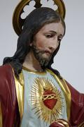 Sacred Heart of Jesus - stock photo