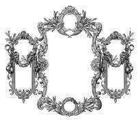 Stock Illustration of old frame