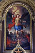 Archangel Michael Stock Photos