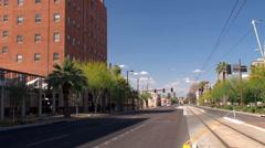 Downtown City Phoenix. Arizona, USA. Stock Footage