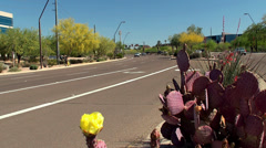Freeway at City Phoenix. Arizona, USA. Stock Footage