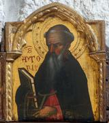Saint Anthony the Great - stock photo