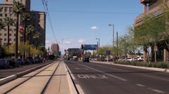Downtown City Phoenix. Arizona, USA. - stock footage