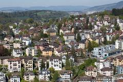 apartment in lucerne - stock photo
