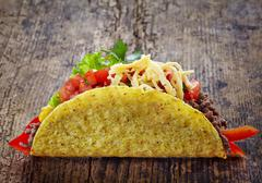 Mexican food tacos Stock Photos