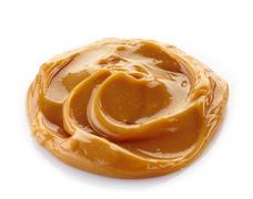 melted caramel - stock photo
