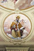 Saint Augustine of Hippo - stock photo