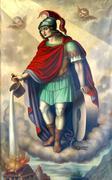Saint Florian - stock photo