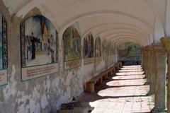 Stock Photo of Church arcades
