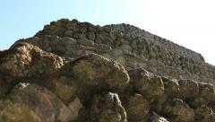 Chacchoben Mayan Ruins Templo 24 Pyramid 10 Stock Footage