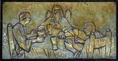 Supper at Emmaus - stock photo