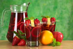 Stock Photo of refreshing sangria
