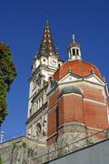 Basilica Assumption of the Blessed Virgin Mary, Marija Bistrica, Croatia Stock Photos