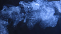 Closeup shot of smoke Stock Footage