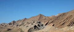 Atlas mountains - stock photo