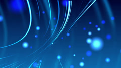 4K Blue Motion Background Stock Footage