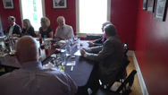 Stock Video Footage of small business board meeting