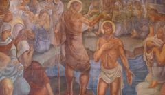 Baptism of the Lord Stock Photos