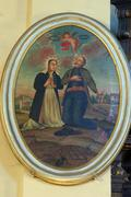 Saint Isidore the Laborer and Maria Torribia Stock Photos