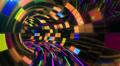 Disco Dance Tunnel Dx01f HD Footage