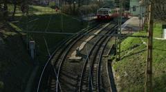 4K Cogwheel Railway Budapest Hungary 2 Stock Footage