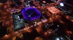 Phoenix US Airways Center Stock Footage