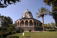 The Church Of The Beatitudes, Galilee, Israel - stock photo