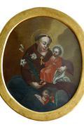 Saint Anthony of Padua - stock photo