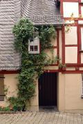 Beautiful old house in Limburg - stock photo