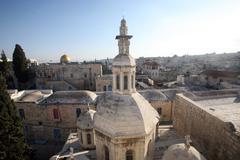 Jerusalem-Franciscan Chapel of the Condemnation - stock photo