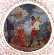 The Beheading of Saint Catherine of Alexandria - stock photo