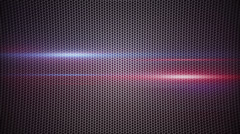 Metal mesh and light stripes loopable background Stock Footage