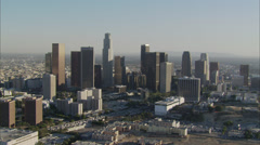 Freeways Downtown Los Angeles California Stock Footage