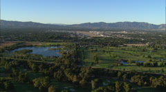California Landscaps Suburbs Stock Footage