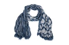 Warf scarf isolated on the white background Stock Photos