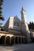 Ein Karem Church of the Visitation Stock Photos