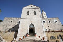 Church of St. John the Baptist, Ein Karem - stock photo