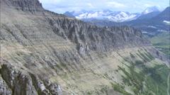 Valley Mountain Range - stock footage