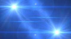 Lens Flare Transition Flash Wipe bright blue alpha 2 Stock Footage