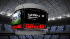 Stadium Screens - stock after effects