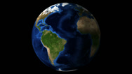 Stock Video Footage of Earth rotating globe