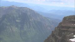Stock Video Footage of Brown Bears Run Down Mountainside